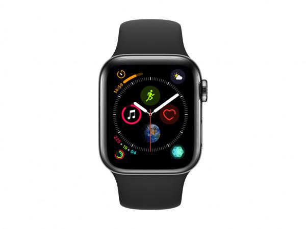 Apple Watch Series 4 - Rustfrit stål