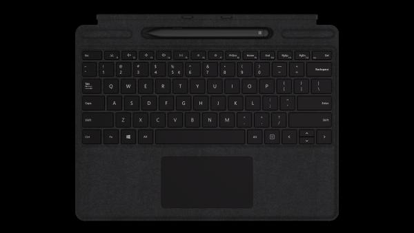 Surface Pro X Signature Keyboard with Slim Pen Bundle