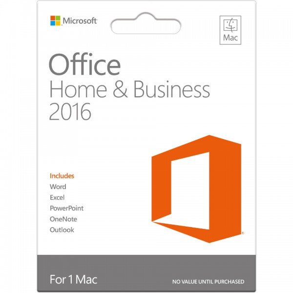 MS Office 2016 Home & Business Mac - Download